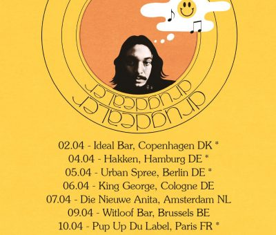 Drugdealer announces EU dates for April 2017