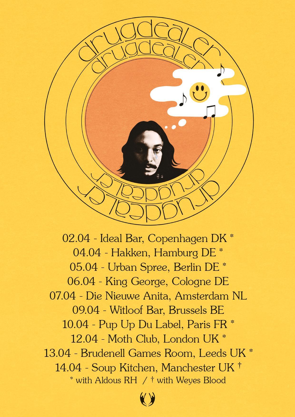 Drug Dealer Tour Dates
